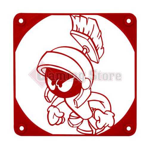 Gaming Store Grill Fan Marvin The Martian GS7 Red