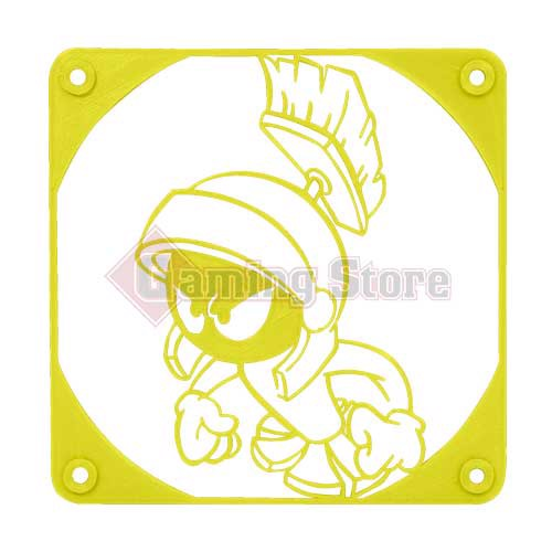 Gaming Store Grill Fan Marvin The Martian GS7 Yellow
