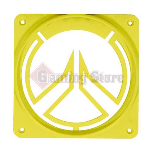 Gaming Store Grill Fan Overwatch GS9 Yellow