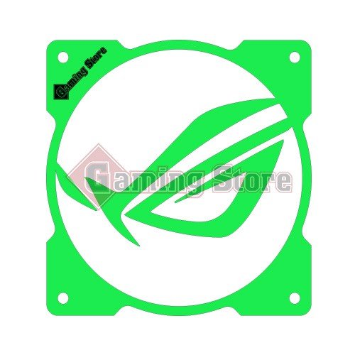 Gaming Store Grill Fan ROG Mask GS26 Green