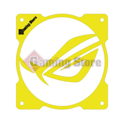 Gaming Store Grill Fan ROG Mask GS26 Yellow
