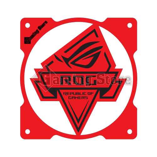 Gaming Store Grill Fan RoG GS22 Red