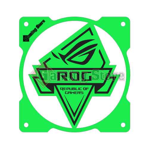 Gaming Store Grill Fan RoG GS22 Green