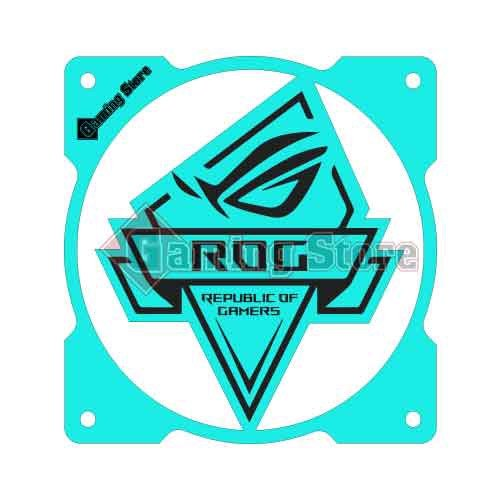 Gaming Store Grill Fan RoG GS22 Cyan