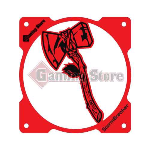 Gaming Store Grill Fan Stormbreaker GS23 Red