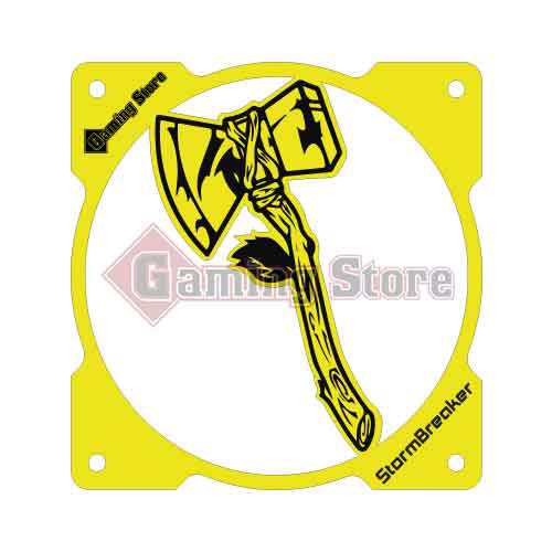 Gaming Store Grill Fan Stormbreaker GS23 Yellow