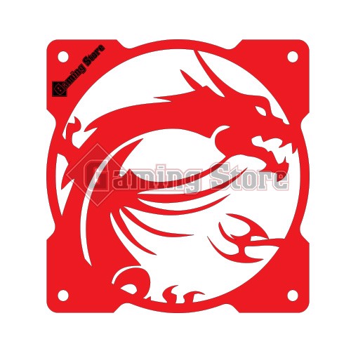 Gaming Store Grill Fan MSI Dragon GS29 Red