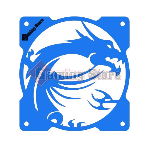 Gaming Store Grill Fan MSI Dragon GS29 Blue