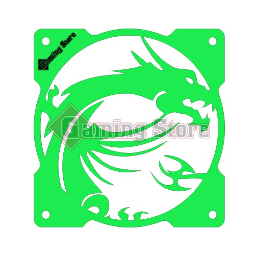 Gaming Store Grill Fan MSI Dragon GS29 Green