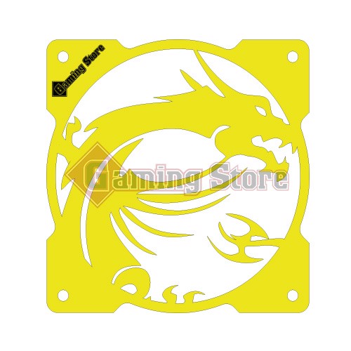 Gaming Store Grill Fan MSI Dragon GS29  Yellow