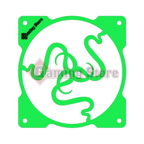 Gaming Store Grill Fan Razer GS31 Green