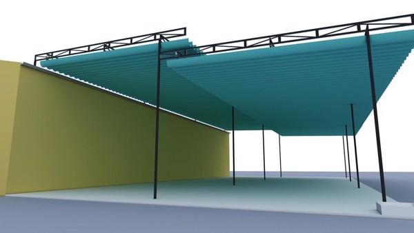 Mái che di động là sản phẩm kiến trúc hiện đại và sang trọng