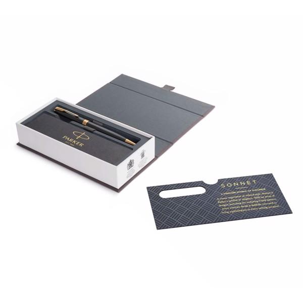 Bút bi cao cấp Parker Sonnet Đ-Black GT TB-1950784