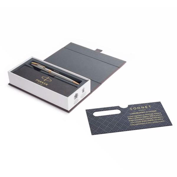 Bút bi cao cấp Parker Sonnet Đ-STAIN Steel GT TB-1950798