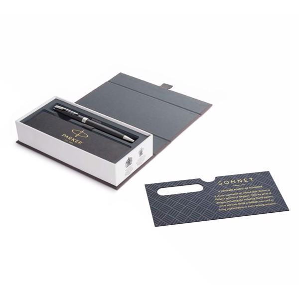 Bút bi cao cấp Parker Sonnet SLM Đ-Black CT TB-1950793