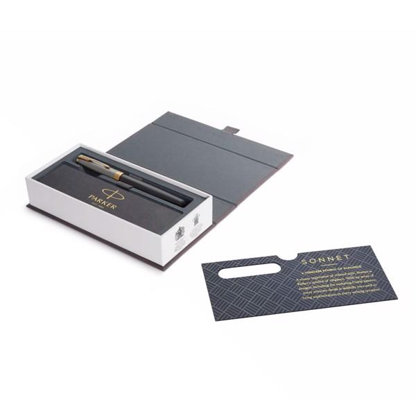 Bút lông bi cao cấp Parker Sonnet Đ-SILBLK GT F GB-1931539