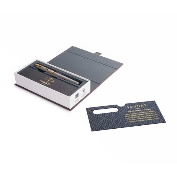 Bút lông bi cao cấp Parker Sonnet Đ-ST SIL GT F GB-1931491