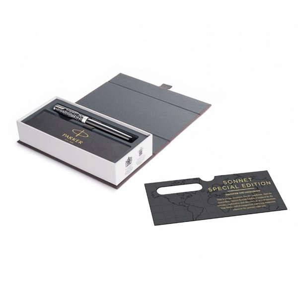 Bút lông bi cao cấp Parker Sonnet SE18 Đ-B CT F GB-2054824