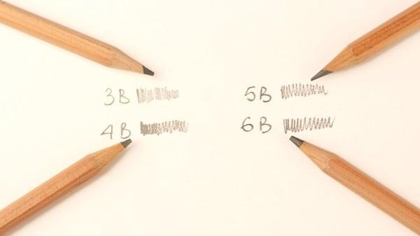 Bút chì mỹ thuật Thiên Long 4B GP-023