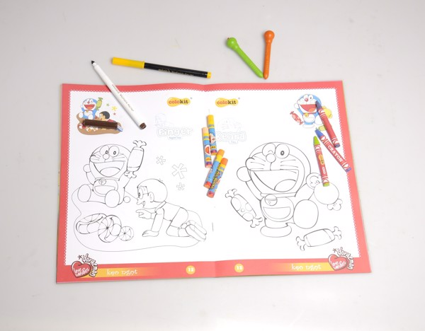 Tập tô màu Thiên Long - Colokit Doraemon CB-017/DO