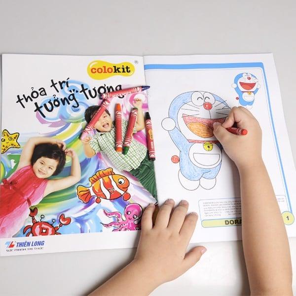 Tập tô màu Thiên Long - Colokit Doraemon CB07/DO