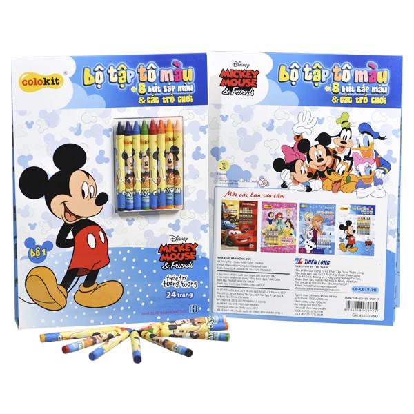 Tập tô màu Thiên Long - Colokit Mickey CB-C019/MI