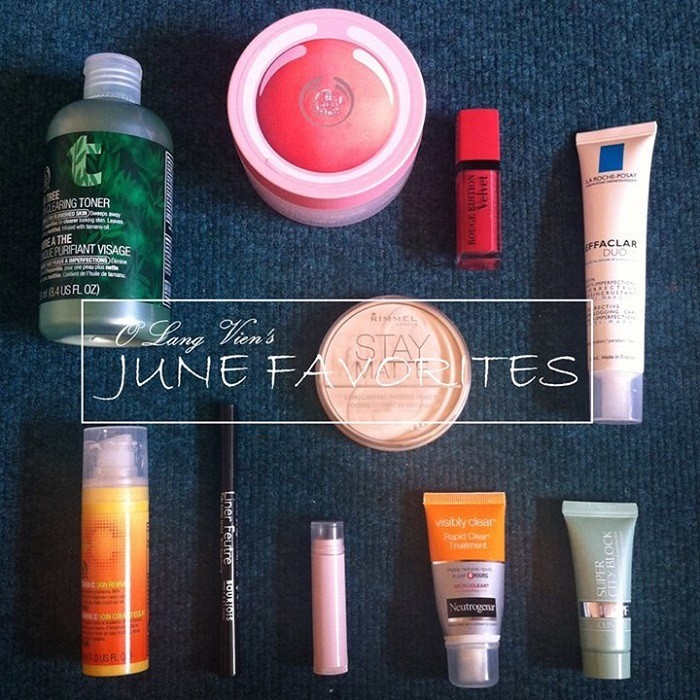 MONTHLY FAVS | June!