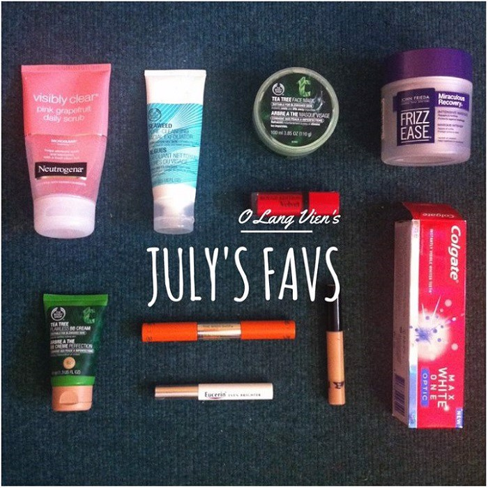 MONTHLY FAVS | July.