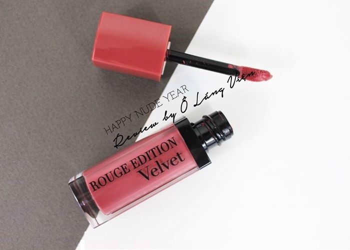 REVIEW | Happy Nude Year! - Nàng Xuân Từ Bourjois Rouge Edition Velvet