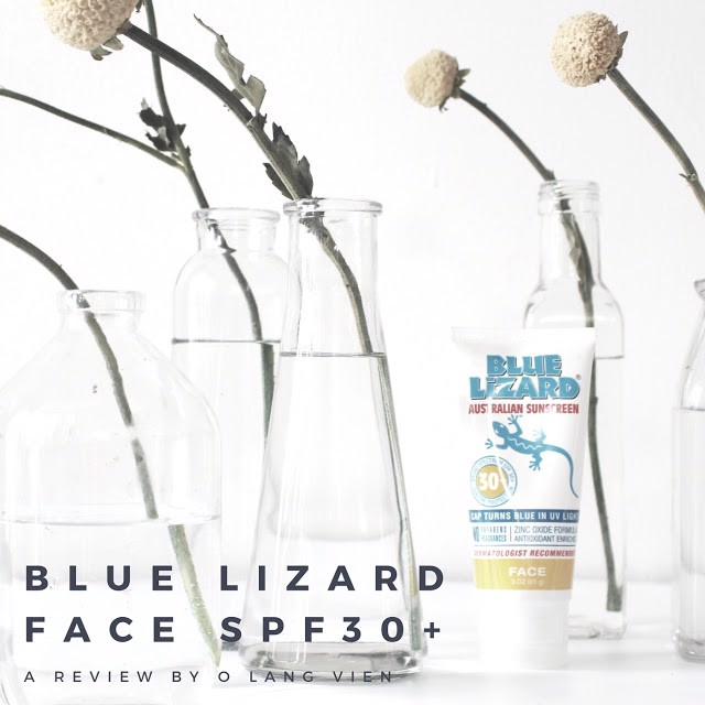 REVIEW | BLUE LIZARD AUSTRALIAN SUNSCREEN FACE SPF30+