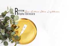 REVIEW | Alpha Skincare Dual Action Skin Lightener 2% hydroquinone + 10% AHA