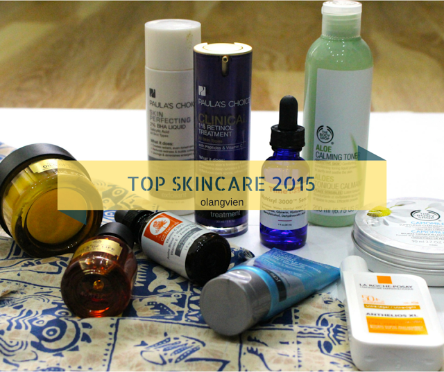 BEST SKINCARE IN 2015