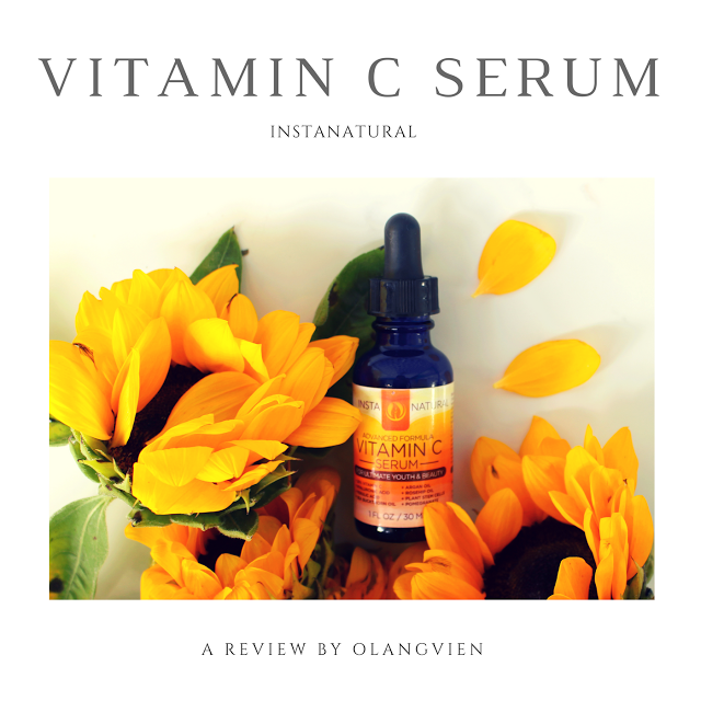 REVIEW | InstaNatural Vitamin C Serum