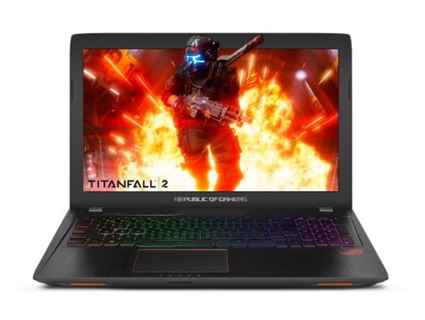 Laptop Asus GL553VE-FY096 (I7-7700HQ) (Đen)