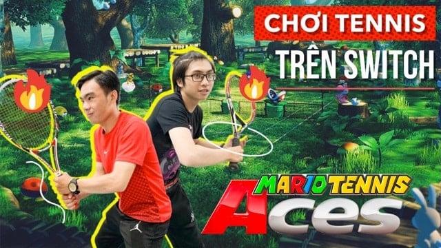 Cùng nShop chơi thử game Mario Tennis Aces cho Nintendo Switch
