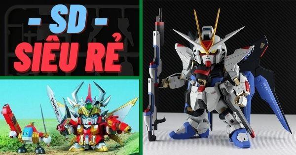 Nên mua Gundam nào đẹp nhất khi trong túi chỉ còn 200k