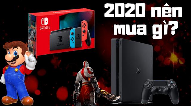 2020 nên mua Nintendo Switch hay PS4?