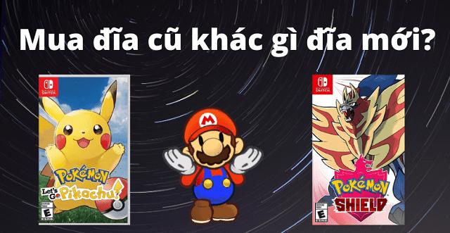 Đĩa game Nintendo Switch cũ khác gì đĩa mới & có nên mua rẻ không?