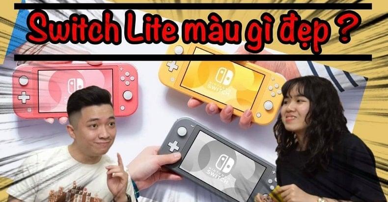 Nên mua Nintendo Switch Lite màu gì đẹp nhất?
