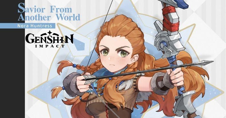 Genshin Impact hợp tác cùng Sony, thêm Aloy từ series Horizon vào game