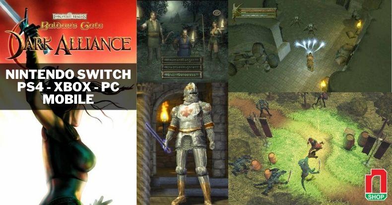 Baldur's Gate: Dark Alliance làm lại trên Nintendo Switch, PS4, Xbox One & PC
