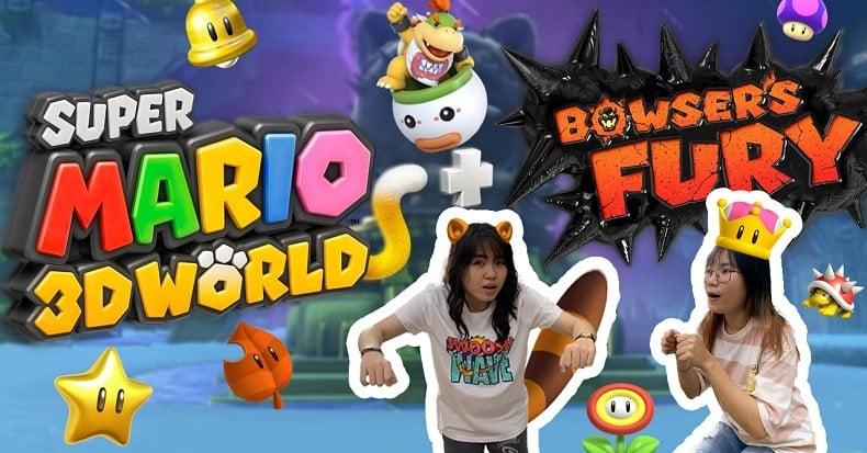 Chơi game Super Mario 3D World + Bowser's Fury trên Nintendo Switch cùng nShop
