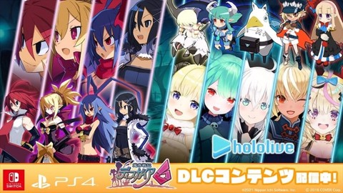 Disgaea 6: Defiance of Destiny cập nhật DLC Hololive Collaboration Set