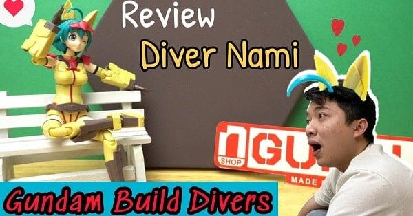 Review em nhân viên Gundam Base Tokyo Diver Nami - Mô hình Gunpla hay búp bê?