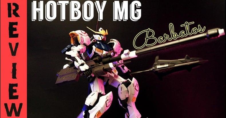 Review Gundam Barbatos cấp độ MG | nShop lắp ráp mô hình Gunpla & đánh giá sản phẩm