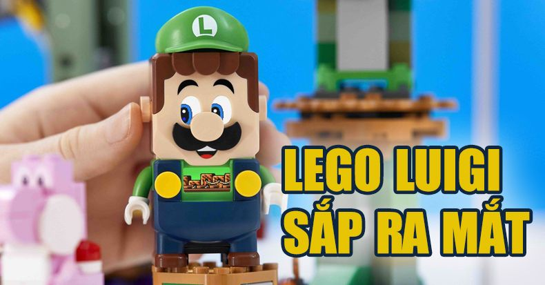 Lego Super Mario Adventures mở rộng với Luigi