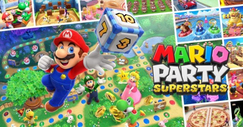 Mario Party Superstars có cả trăm minigame