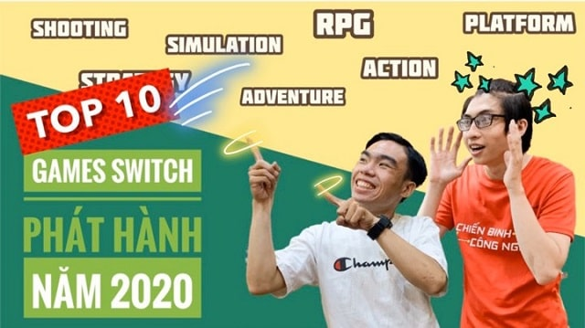Top 10 game máy Nintendo Switch / Switch Lite ra mắt 2020 - Cùng nShop điểm lại xem nhé!!!