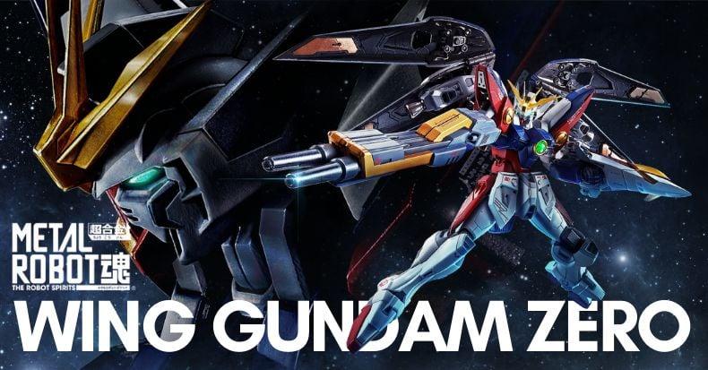 Metal Robot Spirits Wing Gundam Zero có thể chuyển dạng