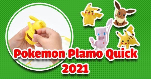 Mô hình lắp ráp Pokemon Plamo Quick ra mắt 2021